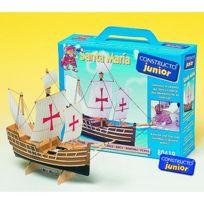 Constructor - Maquette bateau en bois : Ligne Junior : Santa Maria