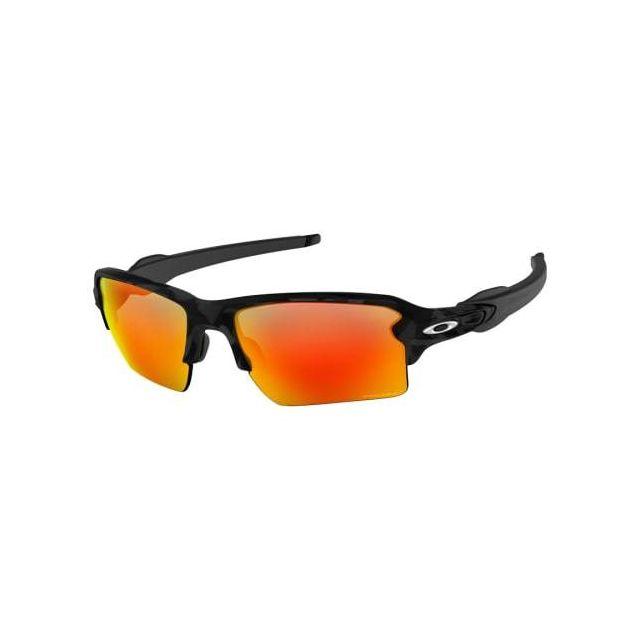Oakley - Lunettes Oakley Flak 2.0 Xl O Black Camo avec verres Prizm Ruby 873b43d27106