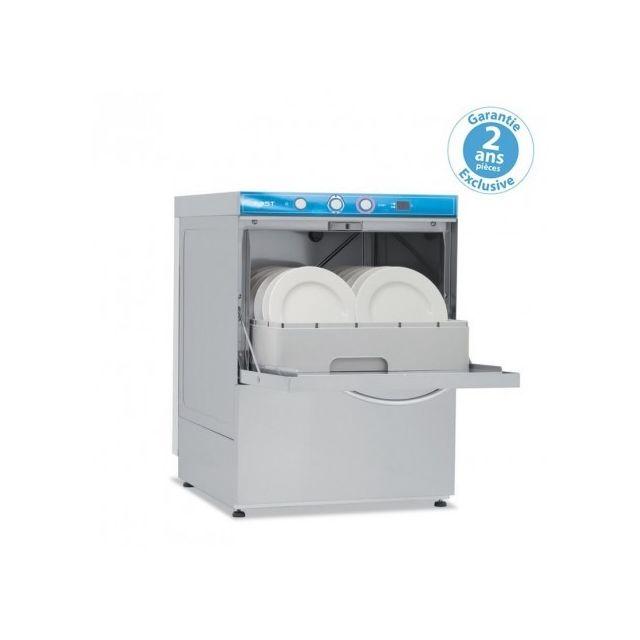 Materiel Chr Pro Lave-verres/vaisselle avec adoucisseur - affichage digital - panier 450 x 450 mm - Elettrobar - 220V monophase