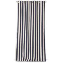 rideaux rayures verticales achat rideaux rayures verticales pas cher rue du commerce. Black Bedroom Furniture Sets. Home Design Ideas