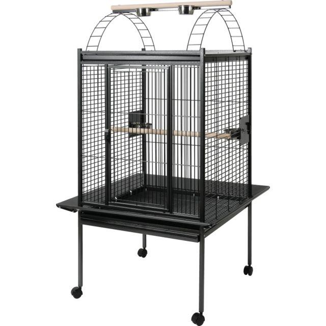 zolux cage perruche et perroquet kubeo 96xl grise pas. Black Bedroom Furniture Sets. Home Design Ideas