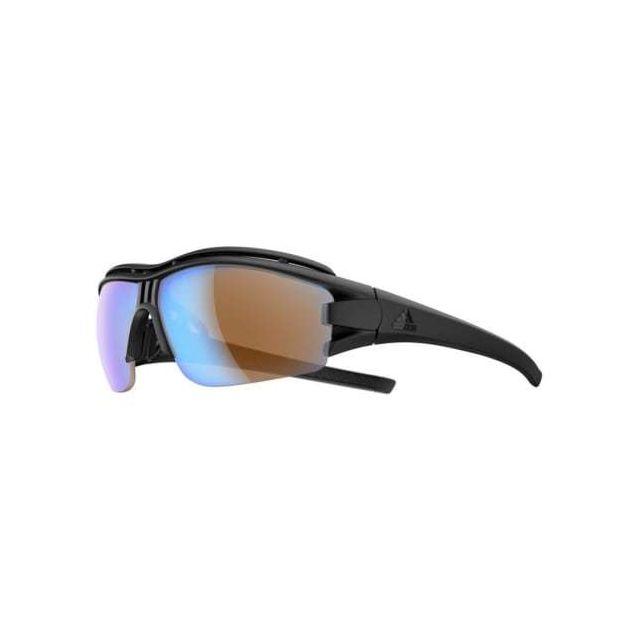 72e7bea715 Adidas - Lunettes de soleil Evil Eye Halfrim Pro noires avec verres en  polycarbonate - pas cher Achat / Vente Lunettes - RueDuCommerce