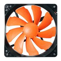COUGAR - Ventilateur Turbine T12S , Noir/orange - 120mm