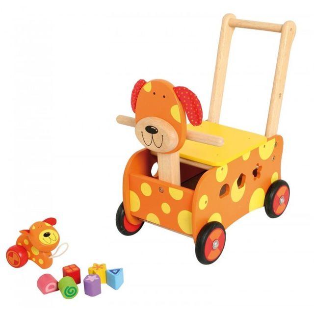 I M Toy - Porteur en bois multifonctions