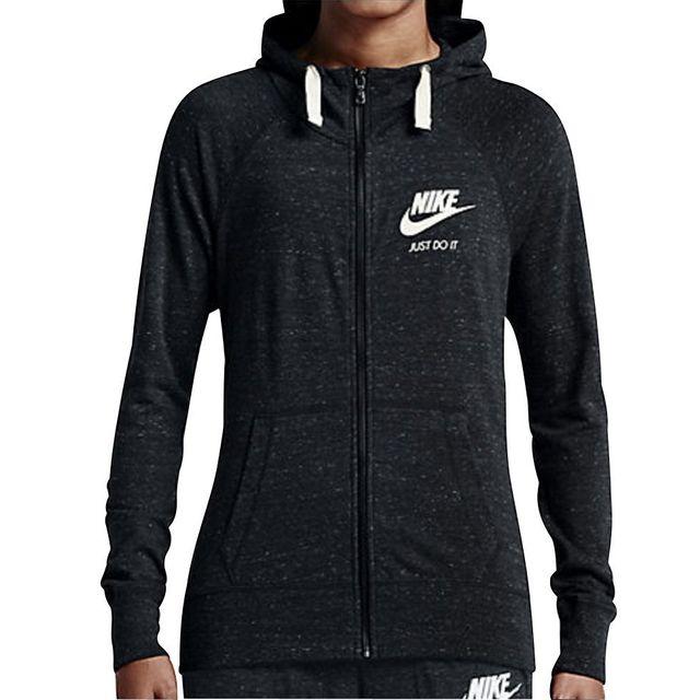 d8dc6c2d19a1 Nike - Nike Veste Gym Vintage Full-Zip. Description  Fiche technique.  Protection Douce Et LÉGÈRE. Le sweat à capuche ...