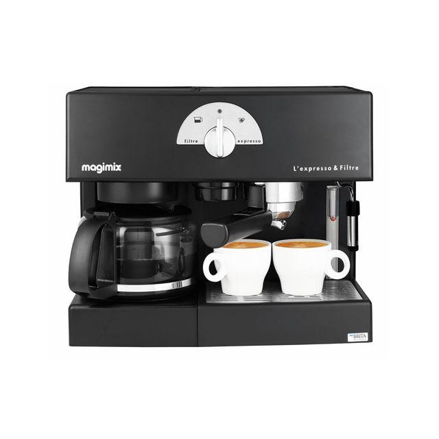 magimix expresso filtre automatic achat cafeti re. Black Bedroom Furniture Sets. Home Design Ideas