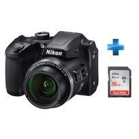 NIKON - Pack débutant -COOLPIX-B500-NOIR + Carte SD 16GO