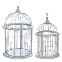 cage oiseau deco achat cage oiseau deco pas cher rue du commerce. Black Bedroom Furniture Sets. Home Design Ideas