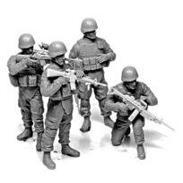 Master Box - Figurines militaires : Us check point : Irak 2010