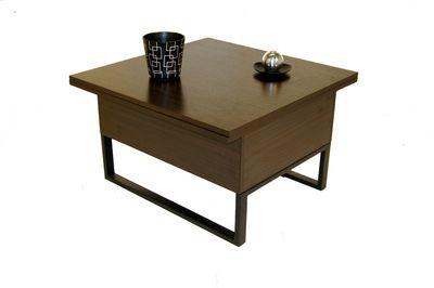Giovanni Table basse relevable New Viper Wengé