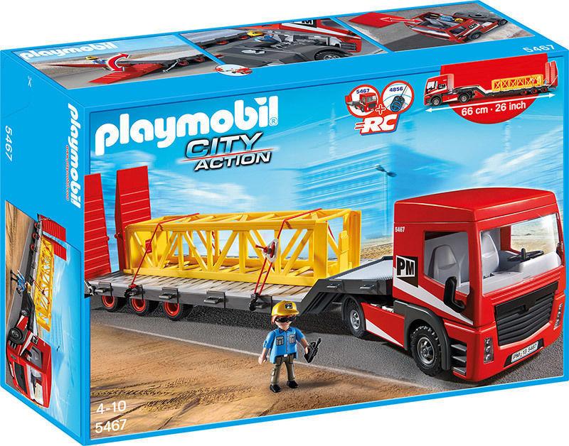 Tracteur routier avec grande remorque - 5467