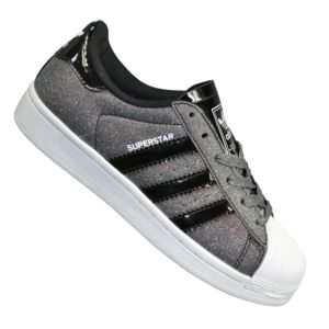 Adidas originals - En Solde Baskets - Superstar Paillettes - Carbone Gris