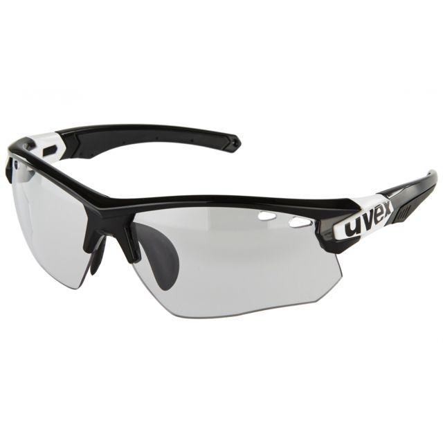 c92b69b8d42a54 Uvex - Sportstyle 109 vario - Lunettes - noir - pas cher Achat   Vente  Lunettes - RueDuCommerce