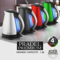 Pradel Premium - Bouilloire électrique à Leds ® Vert