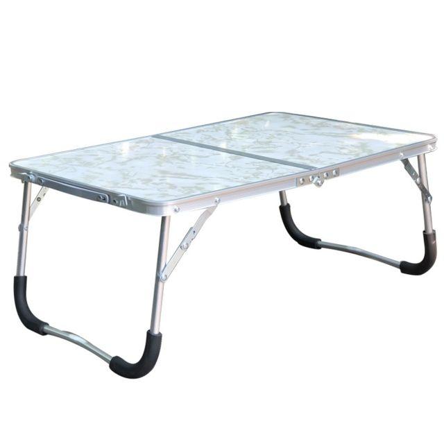 Support Dordinateur Portable Table Pliante Réglable En Caoutchouc Pour Ordinateur