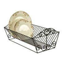 egouttoir vaisselle fer forge achat egouttoir vaisselle fer forge pas cher rue du commerce. Black Bedroom Furniture Sets. Home Design Ideas