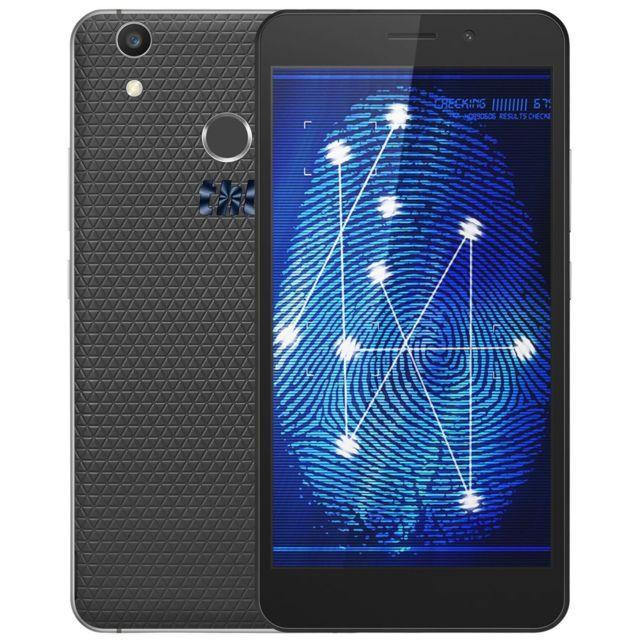 Auto-hightech Phablette 4G avec android 6.0 et 5.5 pouce 4G, deux caméras et scanner d'empreintes digitales - noi