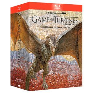 WARNER BROS - Game of Thrones intégrale 1-6 blu-ray