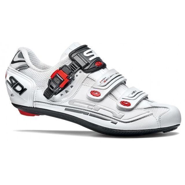 59867360d1b Sidi - Genius 7 Blanche Chaussures Vélo route - pas cher Achat   Vente  Chaussures cyclisme - RueDuCommerce