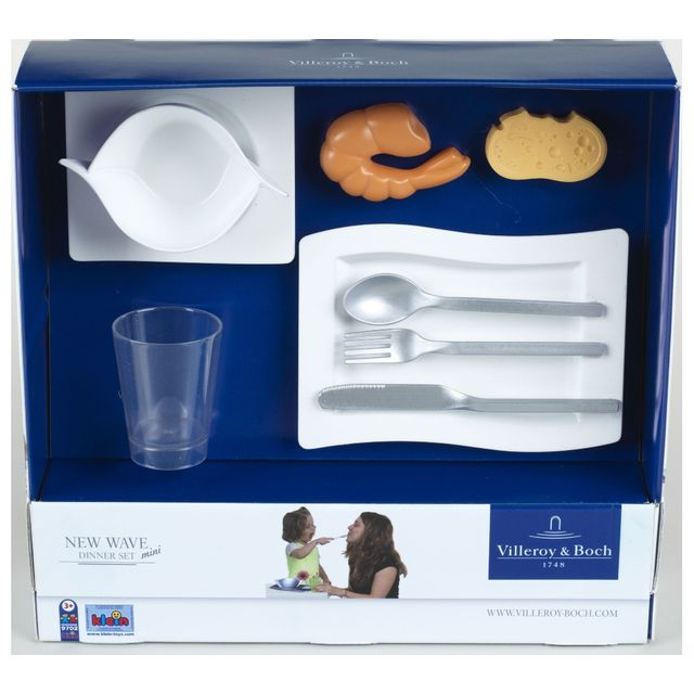 KLEIN VILLEROY & BOCH - Mini set dîner - New Wave - 9702