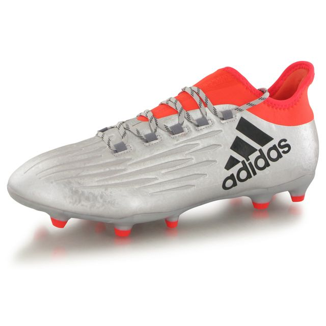 X16.2 Fg argent, chaussures de football homme