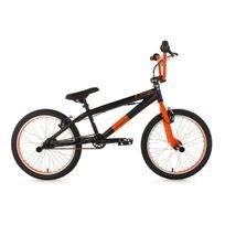 KS CYCLING - BMX Freestyle 20'' G-Surge noir