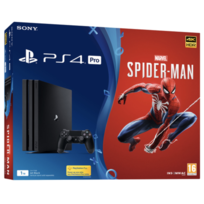 Console PlayStation 4 Pro 1To avec jeu Marvel's Spider Man