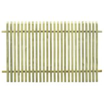 Clôture de jardin Bois de pin imprégné Fsc 170 x 100 cm | Vert - Clôtures  et barrières - Panneaux de clôture | Vert | Vert