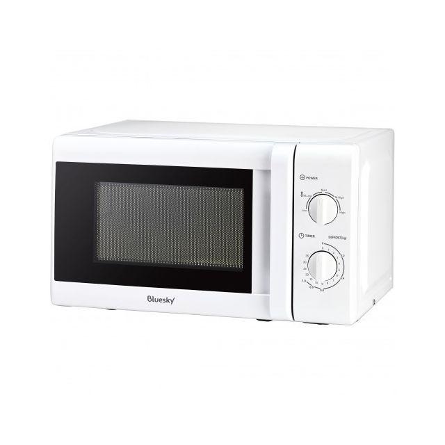 BLUESKY Micro-ondes Solo - BMO20M-18 - Blanc