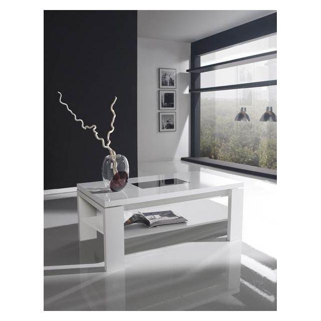 Kasalinea Table basse relevable contemporaine Aline, trois couleurs au choix