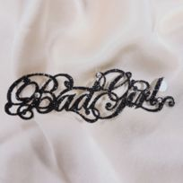 Ines De Castilho - Bijoux de Peau Bad Girl Noir