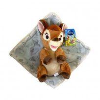 Disney - Peluche : Bambi et sa Couverture - 25 cm