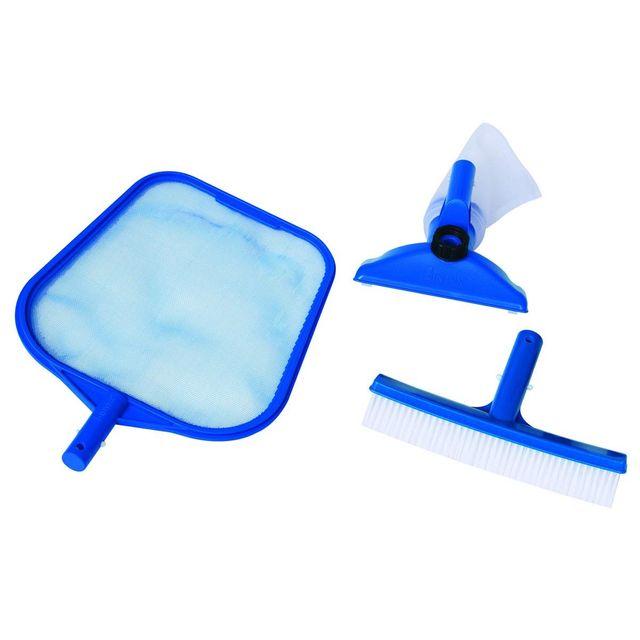 Intex kit de nettoyage pour piscine basic pas cher achat vente accessoires piscines hors - Nettoyage piscine hors sol intex ...