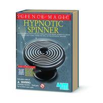 4M - 5606702 - Science Magique - Toupie Hypnotisant - 12,5 X 15,5 X 3 Cm