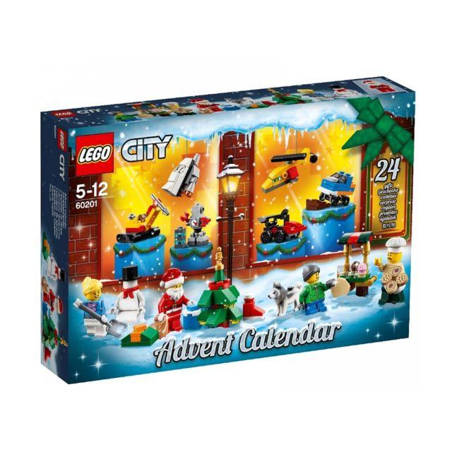 Calendrier De L Avent Lego Star Wars Carrefour.Le Calendrier De L Avent City 60201