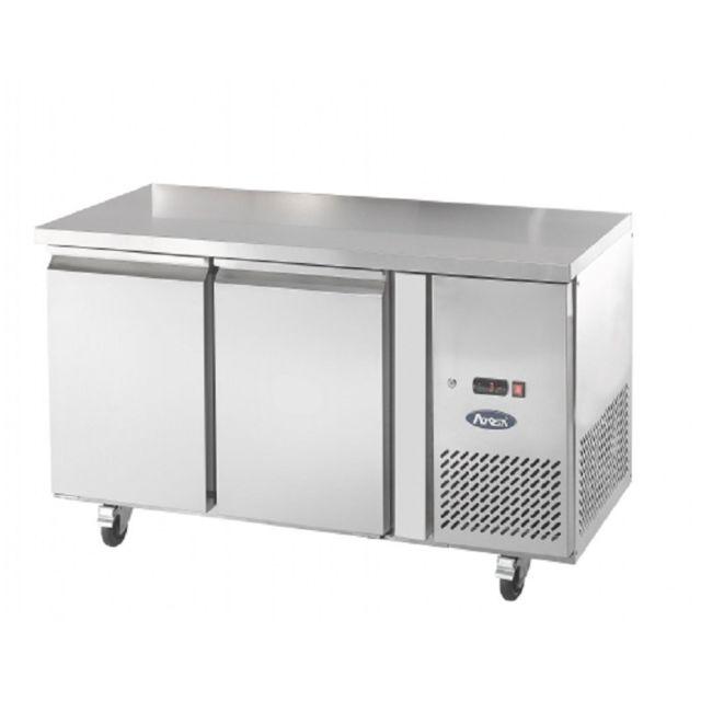 Atosa Table Réfrigérée Positive - Inox 2 Portes 300 L 600