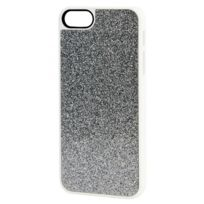 Xqisit - Coque iPlate Glamor silver pour iPhone 5 / 5S