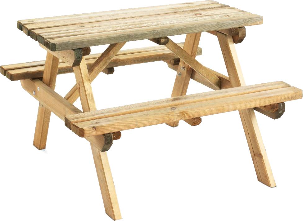 WAPITI Table pique-nique L. 90 cm