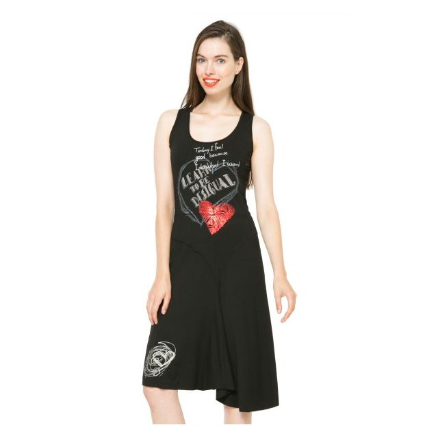 Cher Vente 61v20w6 Alexandra Noir Desigual Robe Pas Achat 4vawSw