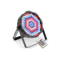 BEAMZ - FlatPAR 186 x 10mm Projecteur PAR RGBW LED DMX Infrarouge