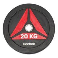 Reebok Fitness - Disque olympique Reebok Bumper Plate 20 kg