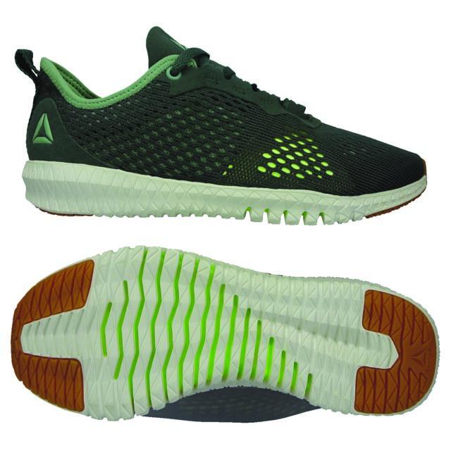Reebok Chaussures femme Flexagon vert foncévert pâle