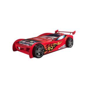 vipack funbeds lit voiture le mans rouge 90cm x 200cm pas cher achat vente ensembles de. Black Bedroom Furniture Sets. Home Design Ideas