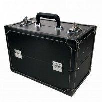 Prym - Boite de rangement rigide à casiers imitation cuir