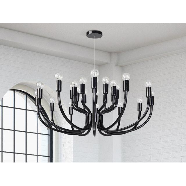 Beliani Lustre Lampe Plafonnier Lampe Suspendue
