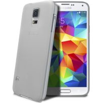 Caseink - Coque Housse Translucide Ultra Fine 0.3mm Pour Samsung Galaxy S5 i9600 Transparente