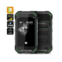 Auto-hightech - Smartphone Android 6.0 Double Sim Ip68, Capteur atmosphérique Vert
