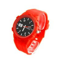 Sbao - Montre Homme Silicone Rouge 2211