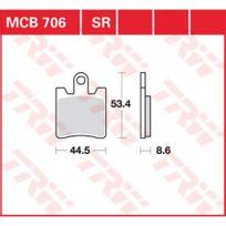 Yamaha - 1300 Fjr / Abs-06/16-PLAQUETTES De Frein Avant Trw-mcb706