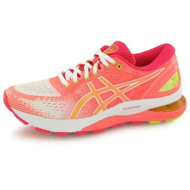 chaussures basses running femme asics gel nimbus 21